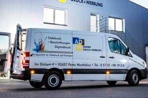 Andres Druck und Werbung Fahrzeugbeschriftung