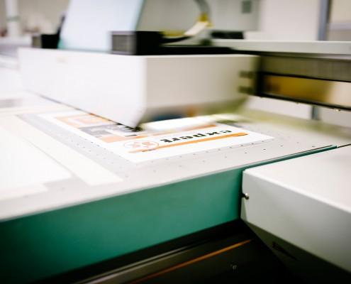 Andres Druck und Werbung Plattendirektdruck