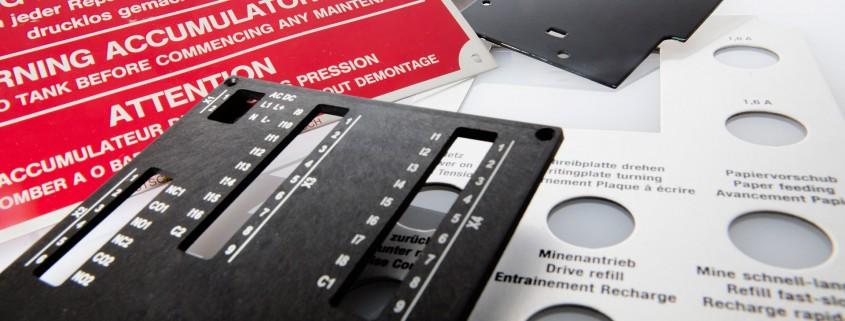 ADW Druck und Werbung Frontplatten