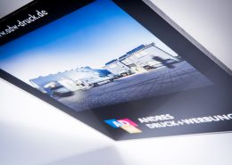 Andres Druck und Werbung Plattendirektdruck - Plexi