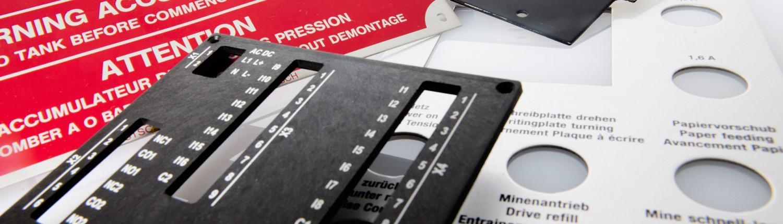 Andres Druck und Werbung Frontplatten